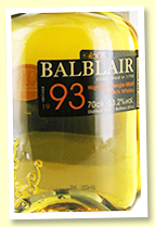 Balblair 23 yo 1993/2017 (53.2%, OB for Royal Mile Whiskies, Bourbon Barrel, 204 bottles)