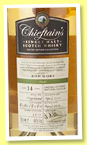 Bowmore 14 yo 2002/2016 (46%, Chieftain's, hogsheads, casks 815801-815810)