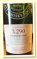Bowmore 17 yo 1998 (58.6%, Scotch Malt Whisky Society, #3.290, 'In a shaman's teepee', refill barrel, 150 bottles)