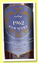 Bowmore 1962/1992 (43%, Moon Import)