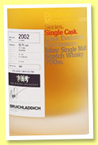 Bruichladdich 13 yo 2002/2016 (52.7%, OB for The Whisky Exchange, micro provenance, bourbon, cask #12/214, 240 bottles)
