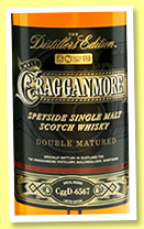 Cragganmore 2003/2015 'Distillers Edition' (40%, OB, Port finish, CggD 6567)