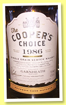 Garnheath 28 yo 1986/2015 (48.5%, The Cooper's Choice, bourbon, cask #22156, 410 bottles)
