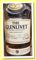 Glenlivet 14 yo 'Glassachoil' (59.3%, OB, Single Cask Edition, cask #634, 2016)