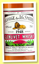 Glenlivet 1948/2010 (43%, Gordon & MacPhail, licensed label)