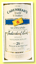 Invergordon 25 yo 1991/2017 (48.3%, Cadenhead, World Whiskies, 102 bottles)