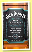 Jack Daniel's 'Master Distiller Series No.4' (43%, OB, Tennessee whiskey, +/-2016)