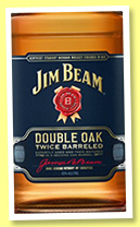 Jim Beam 'Double Oak' (43%, OB, Kentucky Straight Bourbon, +/-2017)