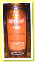 Leomhann 28 yo 1989/2017 (51.8%, Murray McDavid, for Glen Fahrn, blended malt, bourbon barrel, 136 bottles)