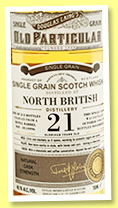 North British 21 yo 1994/2016 (48.1%, Douglas Laing, Old Particular, refill barrel, cask #DL10996, 212 bottles)