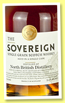 North British 55 yo 1961/2017 (55.1%, Hunter Laing, The Sovereign, cask # 13328, 144 bottles)