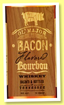 Ol' Major Bacon Infused Bourbon (35%, OB, USA, Tennessee, +/-2017)