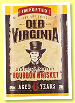 Old Virginia 6 yo (40%, OB, Kentucky Straight Bourbon, +/-2017)