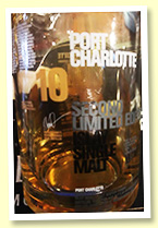 Port Charlotte 10 yo 'Second Edition' (50%, OB, 2016)
