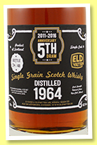 Single Grain 1964/2016 (52.1%, Svenska Eldvatten, 5th Anniversary, bourbon barrel, cask #SE 67, 48 bottles)