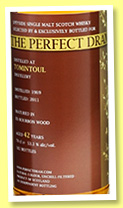 Tomintoul 42 yo 1969/2011 (53.1%, The Whisky Agency, Perfect Dram, bourbon, 182 bottles)