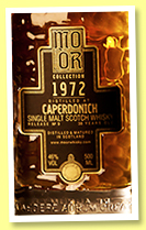Caperdonich 38 yo 1972/2011 (46%, Mo Or Collection, bourbon hogshead, cask #7437, 162 bottles)