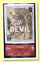 Caroni 18 yo 1998/2017 (63.2%, Hunter Laing, Kill Devil, Trinidad, 233 bottles)