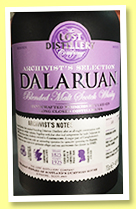 Dalaruan (46%, Lost Distillery Company, Archivist's Selection, blended malt, batch 1/1)