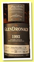 Glendronach 23 yo 1993/2016 (53.3%, OB, for China, oloroso sherry butt, cask #388)