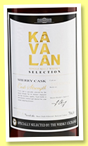 Kavalan 2010/2016 (57.8%, OB, Taiwan, The Whisky Exchange, sherry cask, cask #S100125026A, 526 bottles)