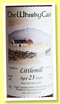 Littlemill 23 yo 1988/2012 (54.9%, The Whisky Cask, 1st fill sherry butt)