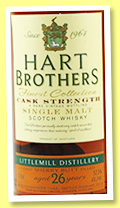 Littlemill 26 yo 1988/2015 (52.5%, Hart Brothers, Finest Collection, first filled sherry butt)