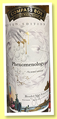 Phenomenology (46%, Compass Box, blended malt, 2017)