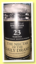 Springbank 23 yo 1994/2017 (50.6%, The Nectar of the Daily Drams)