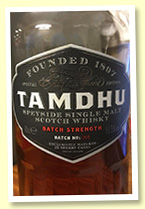 Tamdhu 'Batch Strength' (58.5%, OB, Batch 2, 2015)