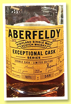 Aberfeldy 33 yo 1983/2016 (52.4%, OB, Exceptional Cask Series, for China, Marsala finish, 588 bottles)