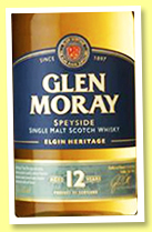 Glen Moray 12 yo 'Elgin Heritage' (40%, OB, +/-2017)