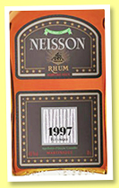 Neisson 1997/2012 (44.7%, OB for Velier and LMdW, Martinique, agricole, single cask)