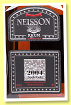 Neisson 2004/2015 (45.4%, OB for LMdW, Martinique, agricole)