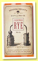 Sonoma County 'Cherrywood Rye' (47.8%, OB, USA, +/-2017)