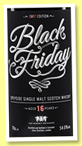 Speyside 16 yo 'Black Friday' (54.6%, The Whisky Exchange, sherry butt, 582 bottles)