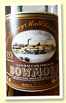 Bowmore 20 yo 1965/1985 (48.5%, Intertrade)