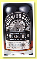 Burning Barn 'Smoked Rum' (40%, OB, UK, +/-2017)