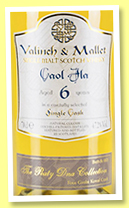 Caol Ila 6 yo 2011/2017 'Four Grain Koval' (48.8%, Valinch & Mallet, The Peaty DNA Collection, 2017)
