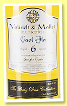 Caol Ila 6 yo 2011/2017 'Oat Koval' (48.8%, Valinch & Mallet, The Peaty DNA Collection, 2017)