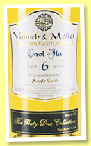 Caol Ila 6 yo 2011/2017 'Rye Koval' (48.8%, Valinch & Mallet, The Peaty DNA Collection, 2017)