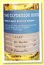 Clydeside Distillery 10 yo 'Islay' (40%, OB, for Hideo Yamaoka, 2018)