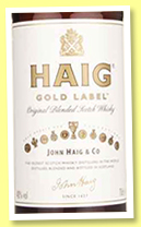 Haig 'Gold Label' (40%, OB, blend, +/-2018)