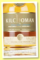Kilchoman 6 yo 2010/2016 (56.9%, OB, Original Cask Strength)
