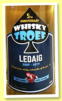 Ledaig 8 yo 2007/2017 (51.5%, The Whisky Mercenary for Whisky Troef)