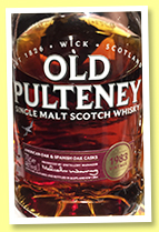 Old Pulteney 1983 (46%, OB, 2017)