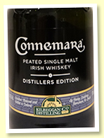 Connemara Distiller's Edition (43%, OB, -/+ 2016)