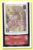 Diamond 12 yo 2004/2017 (63.1%, Hunter Laing, Kill Devil, Guyana, 246 bottles)