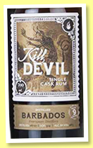 Foursquare 9 yo 2007/2017 (46%, Hunter Laing, Kill Devil, Barbados, 356 bottles)