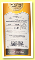 Highland Park 13 yo 2004/2018 (60%, Gordon & MacPhail, Connoisseurs Choice, Cask Strength, first fill sherry, cask #3812, 655 bottles)